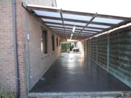 Oprit betonvloer