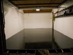 Garage betonvloer